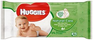 Мокри кърпи Huggies Natural Care 56бр.